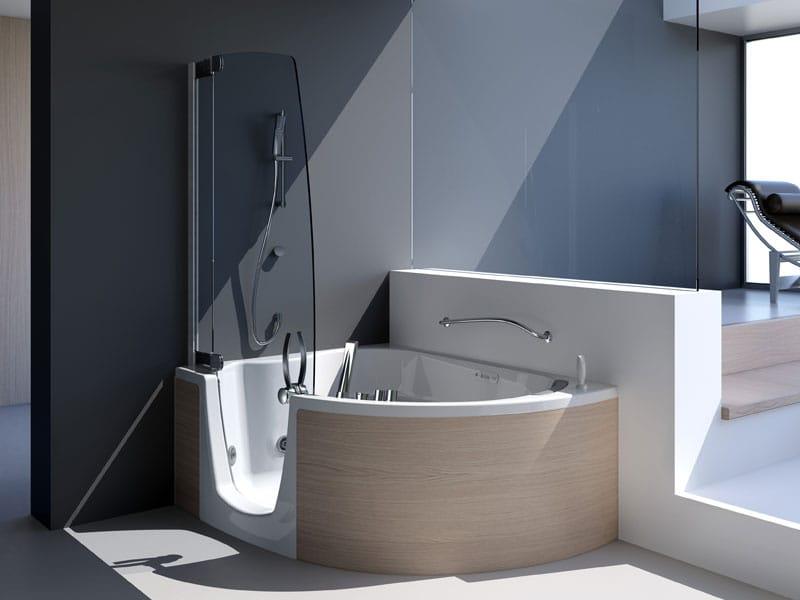 Tende Doccia Per Vasca Da Bagno : Tende per vasca da bagno interdesign color verde da acquistare