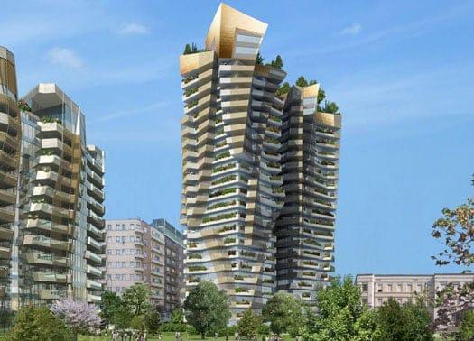 Milano inaugurato il cantiere di citylife for Quartiere city life