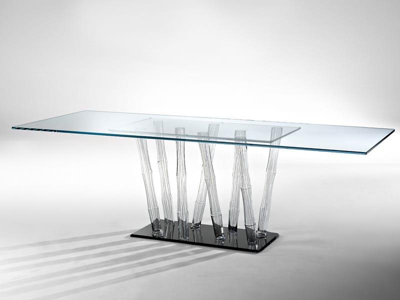 I nuovi tavoli in cristallo di reflex for Tavolo vetro satinato