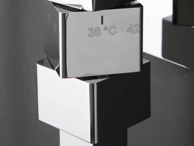 Rubinetterie zazzeri presenta le nuove colonne doccia - Doccione per doccia ...
