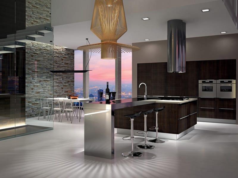 Arrital cucine presenta yoshi for Progetti case moderne interni