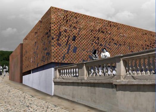 Torino: il progetto per la nuova ala d'accoglienza di Villa della Regina