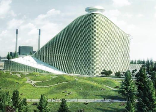 Copenaghen: BIG per il nuovo impianto di riciclaggio e trattamento dei rifiuti