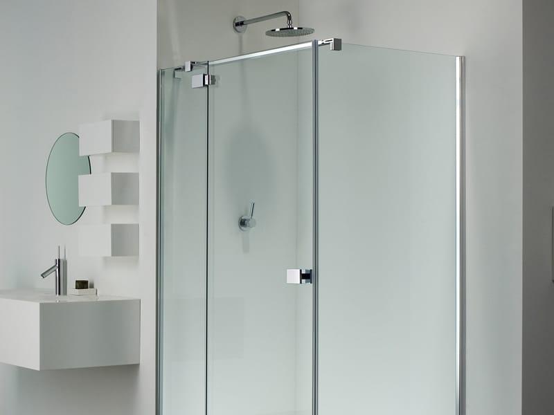 serie e-lite di provex: il box doccia senza telaio