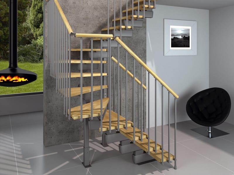 Rintal presenta la nuova scala a chiocciola trio - Scale minimo ingombro ...