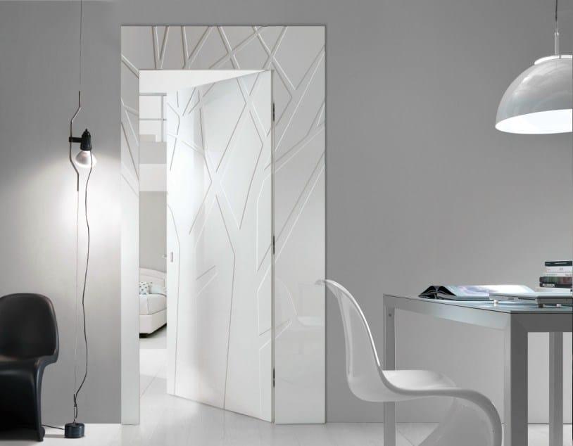 Le novit bertolotto porte per la prima volta ai saloni for Porte arredamento moderno