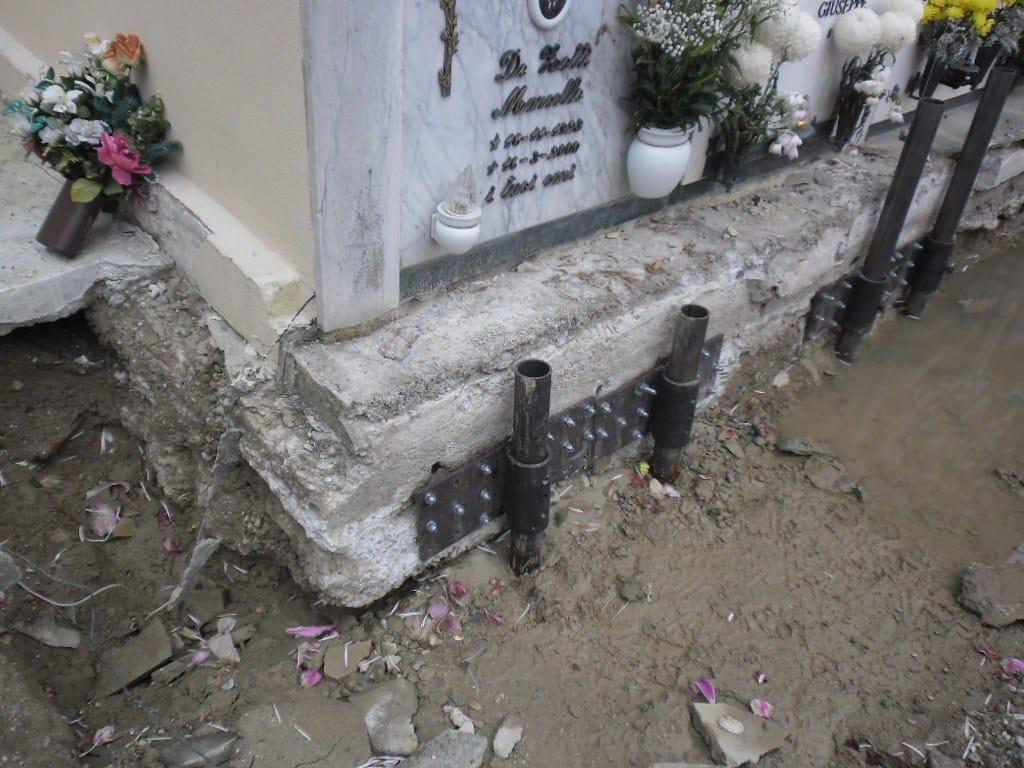 Kappazeta per il consolidamento di un edificio lesionato for Piccola casa su fondamenta