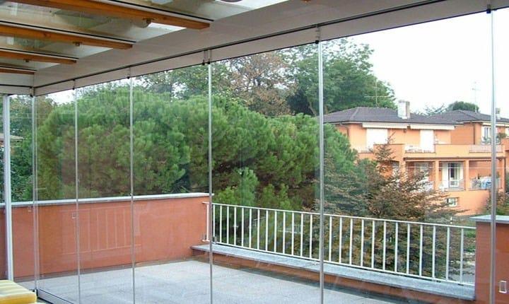 Per la veranda provvisoria non servono permessi edilizi