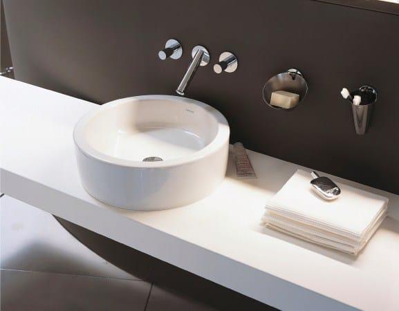 Lavabo e mobile si fondono in un solo elemento - Detrazione bagno 2017 ...