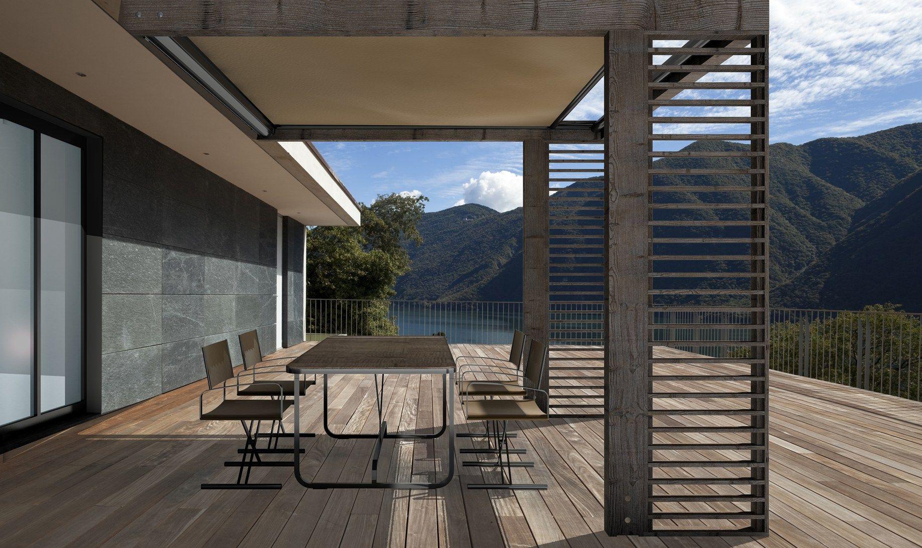 Come arredare il terrazzo - Idee per chiudere un terrazzo ...