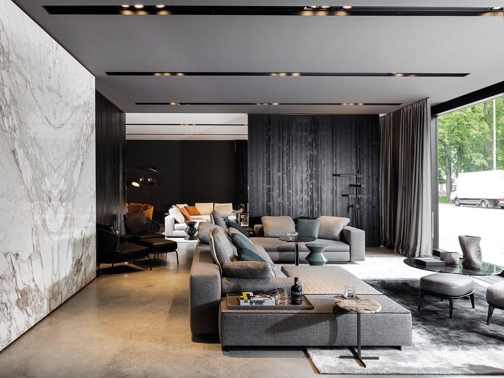 cemento grigio boiserie in legno pareti in marmo. Black Bedroom Furniture Sets. Home Design Ideas