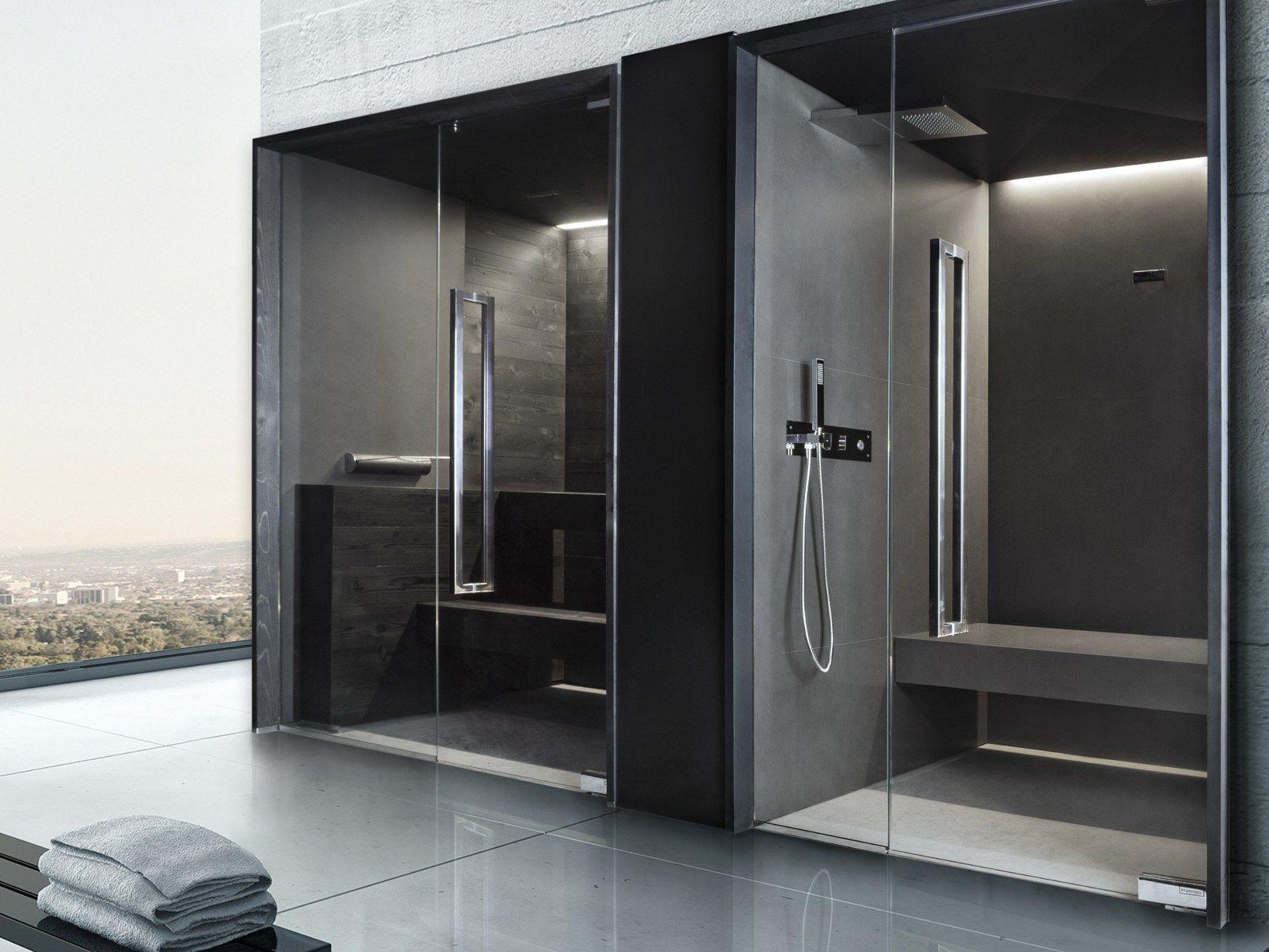 Sauna e bagno turco dallo stile urban ed essenziale - Differenza sauna bagno turco ...