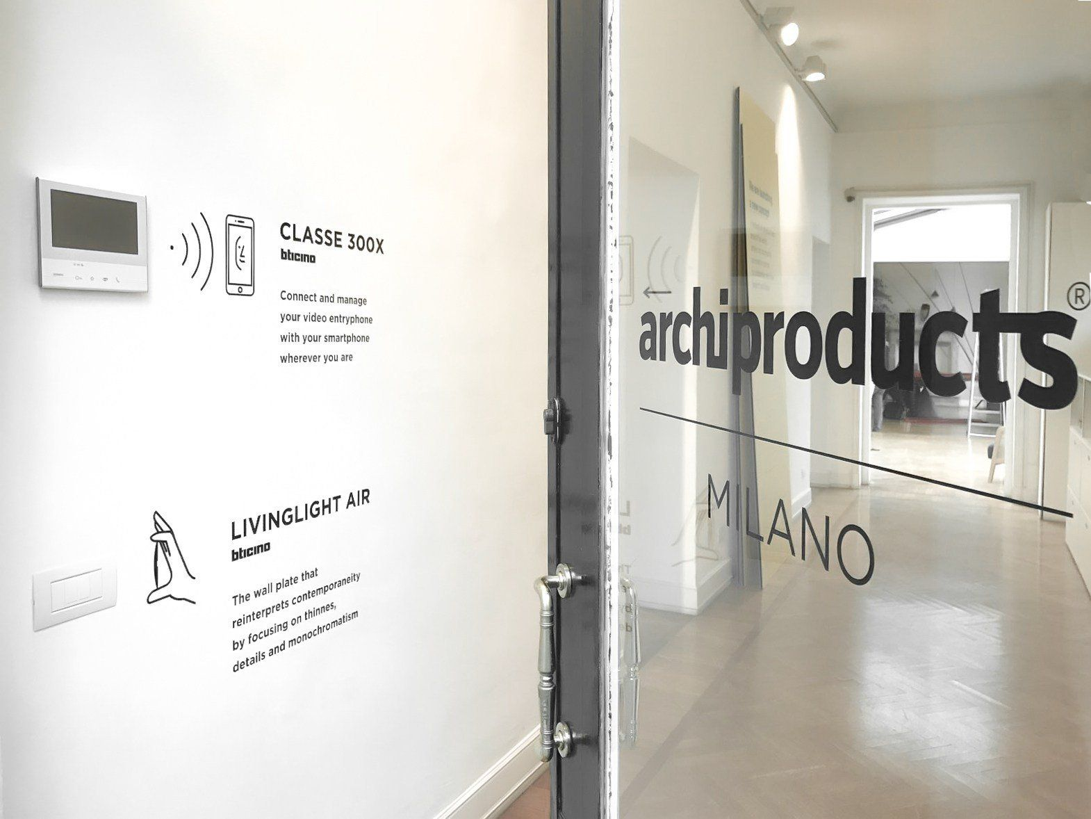 Archiproducts milano bticino for Archiproducts shop
