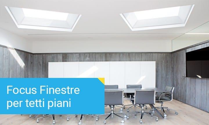 Come illuminare gli spazi esterni for Velux finestre per tetti piani