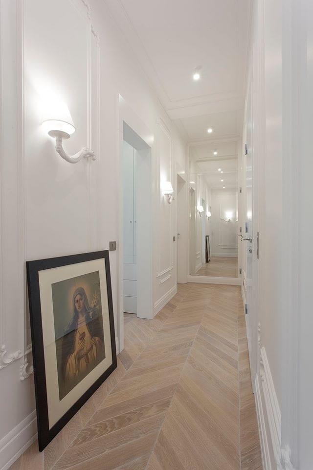 Illuminare il corridoio for Lampade a led lunghe