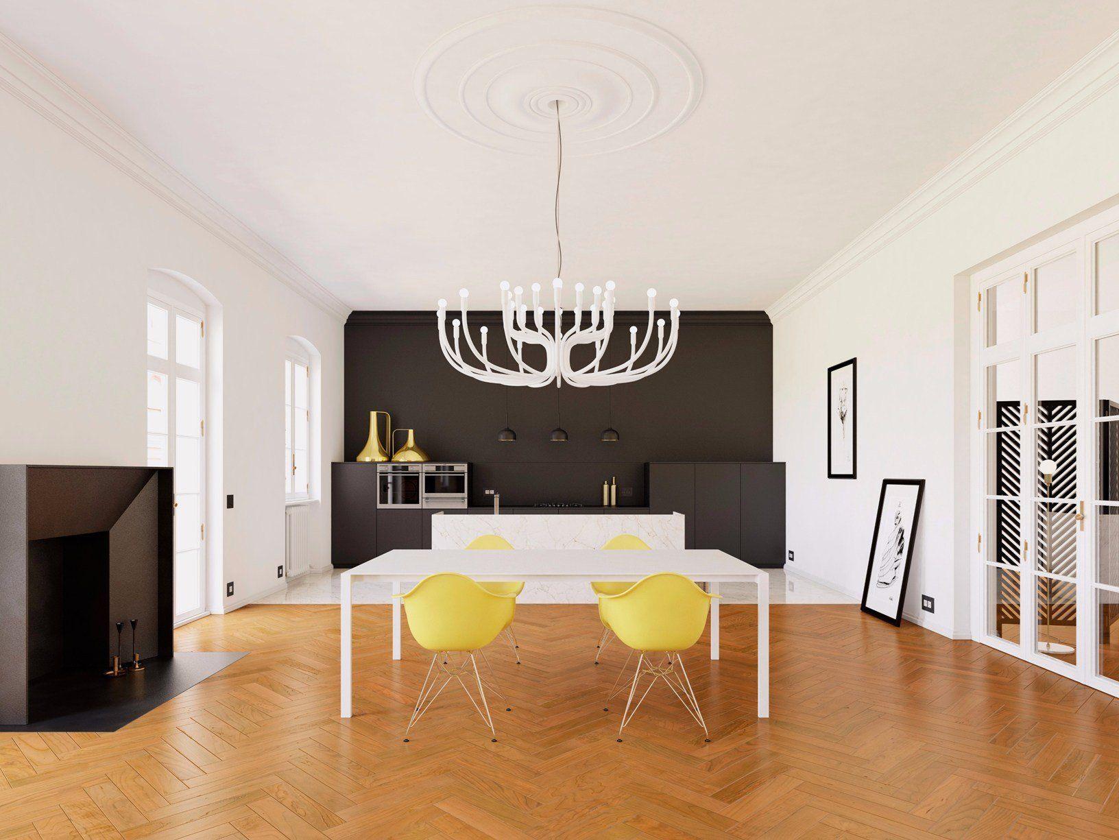 La giusta luce per la sala da pranzo - Illuminazione sala da pranzo ...