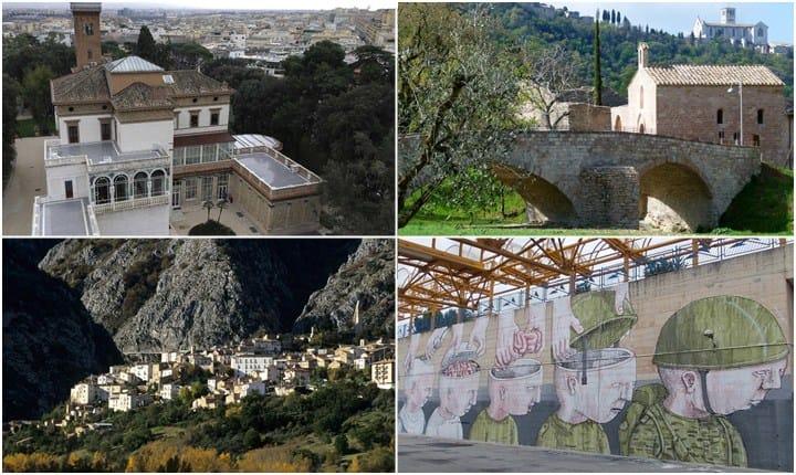 Borghi, boschi e street art per escursioni e cammini interiori