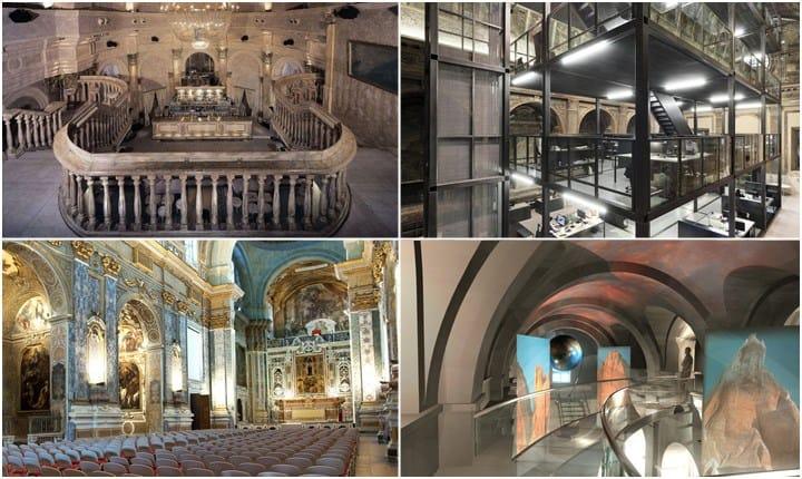 Dal sacro al profano, storie di chiese che si convertono