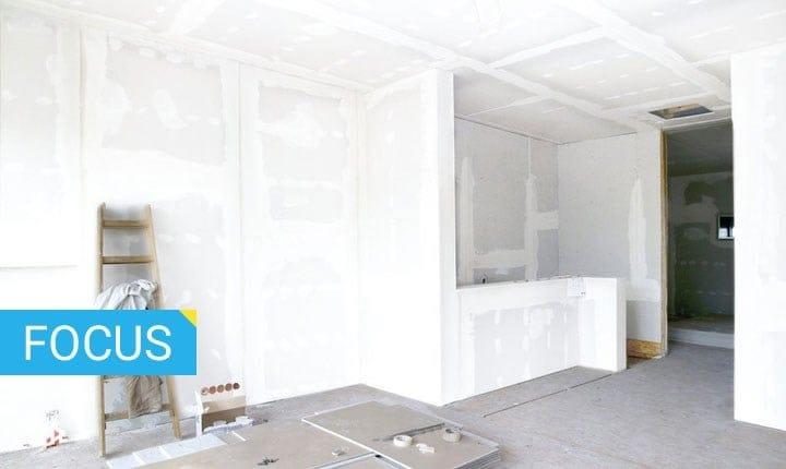 Pareti divisorie le soluzioni per ristrutturare gli spazi interni - Pareti mobili in cartongesso ...