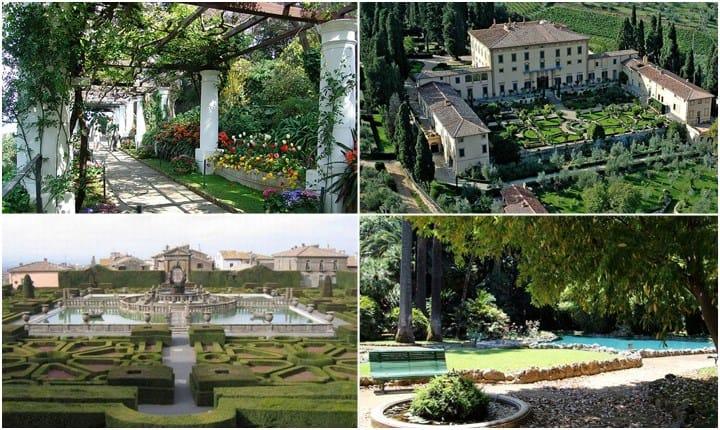Giardini storici, le aree verdi dove si respira la storia