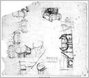Giuseppe Samonà (con  A. Samonà) Studi, Teatro Popolare di Sciacca, Agrigento,1973-83 Università Iuav di Venezia, Archivio Progetti, fondo Bastiana e