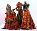 yinka-shonibare, Three graces, 2001