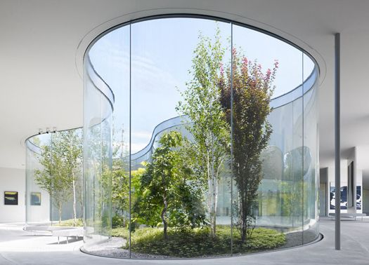 La leggerezza dell hiroshi senju museum karuizawa for Case architetti famosi