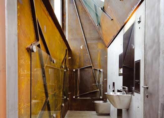 Norvegia servizi igienici stradali in cor ten vetro e - Case norvegesi interni ...