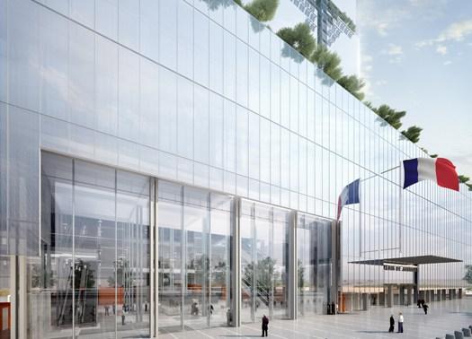 Renzo piano ritorna a parigi con il progetto di un nuovo for Progetti di renzo piano