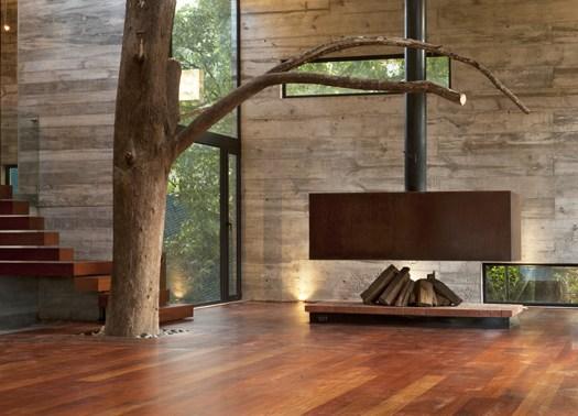 Guatemala dialogo tra natura e architettura nella casa for Arredamento natura