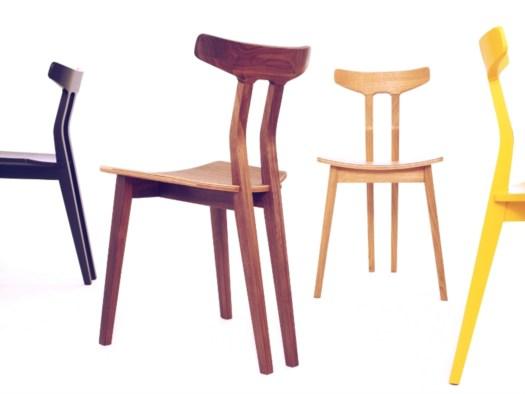 AHEC per Spline Chair di Dare Studio