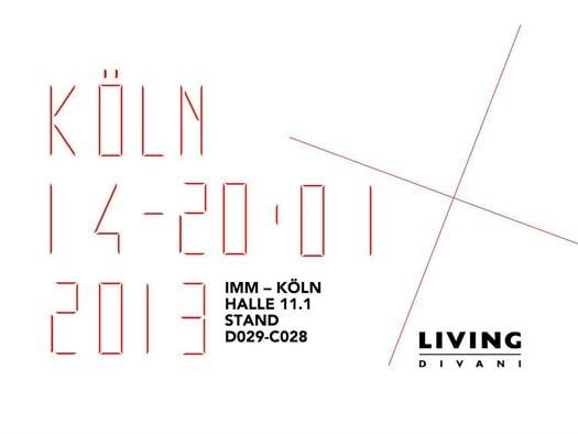 Living Divani a IMM Cologne