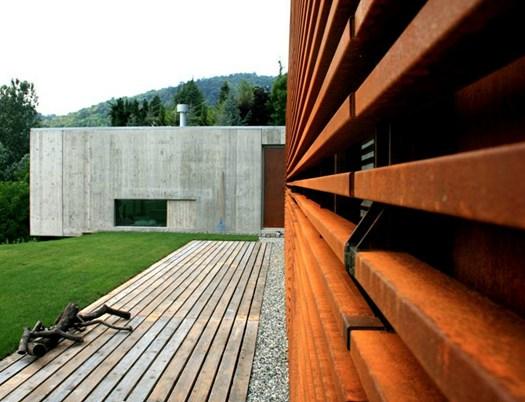 F l architetti realizzano casa y a torino - Casa delle lampadine torino ...