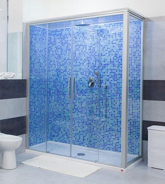 Trasformazione vasca in doccia di remail - Modifica vasca da bagno in doccia ...