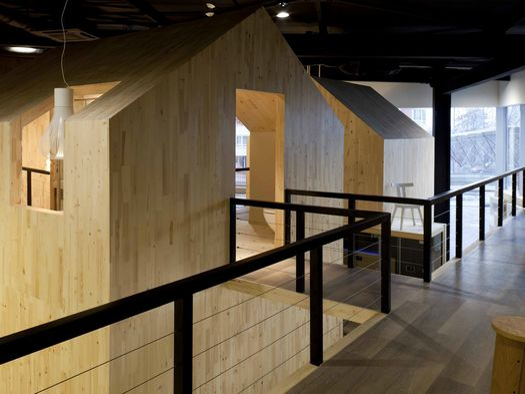 A sofia il nuovo showroom nido by mirko tattarini for Architettura vernacolare