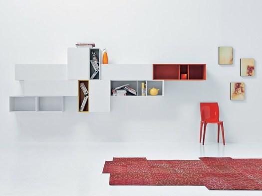 La collezione spazio moduli di pianca si rinnova - Mobili pianca opinioni ...