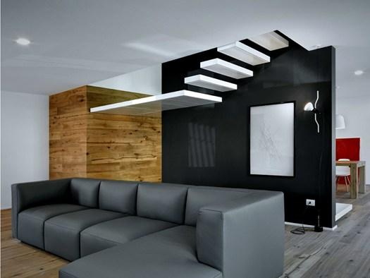 Sondrio alfredo vanotti firma il progetto 39 interno i 39 for Progetto casa interni
