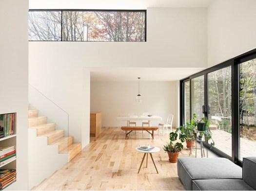 concept dei piani sfalsati per la maison terrebonne