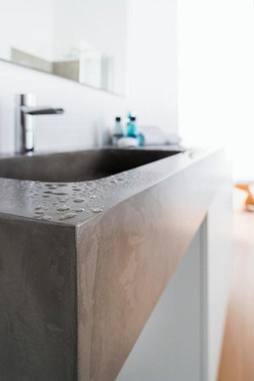 Microtopping per il bagno d 39 ispirazione minimal - Obbligo bagno disabili ...