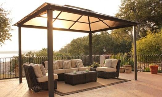 Gazebo sul terrazzo per installarlo non servono permessi - Autorizzazione condominio per ampliamento piano casa ...
