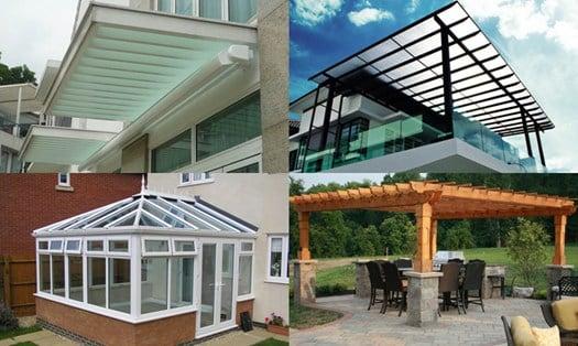 Pensiline tettoie e verande nella babele degli 8mila for Disegni di casa piano aperto