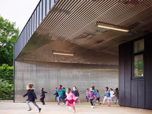 L 39 ampliamento di una scuola materna by graal architecture for Scuola materna francese