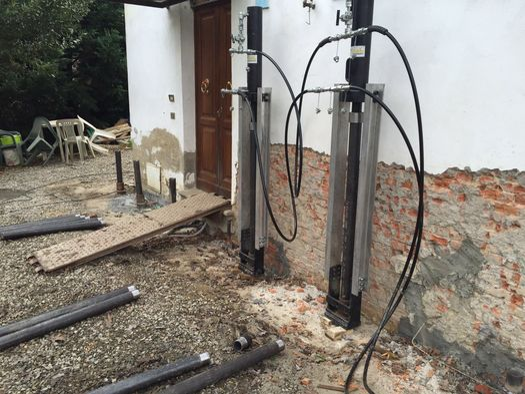 Systab per il consolidamento delle fondazioni in muratura - Fondamenta casa ...