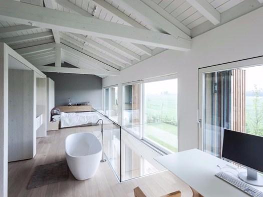 A bomporto casa effe e firmata archiplanstudio for Piani casa tetto del fienile