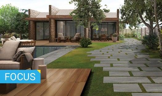 Pavimenti per esterni guida alla scelta - Pavimentazione giardino in legno ...