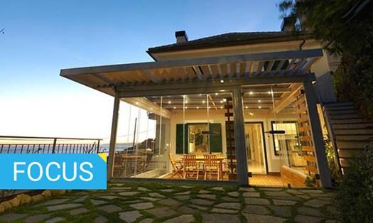 Verande e giardini d inverno come scegliere le soluzioni for Disegni di casa piano aperto