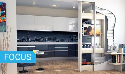 10 soluzioni salvaspazio per chi ristruttura casa for Soluzioni spazio casa
