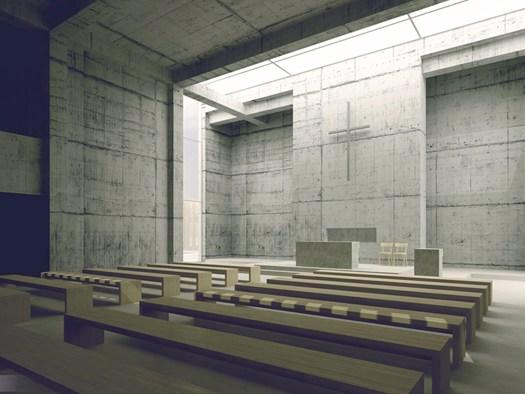 Vincitore Premio Europeo di Architettura Sacra 2015 - DAMIAN HOLOWNIA, Relatore prof. Marek Szczesniak