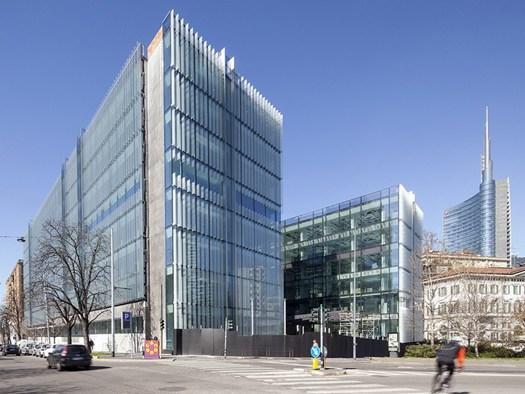 Monte grappa 3 l 39 edificio per uffici di gbpa architects a for Uffici a milano