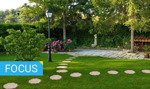 Aree a verde come riqualificare spazi condominali e giardini privati - Giardini con pietre bianche ...